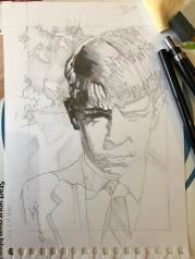 Sketch after 60 minutes