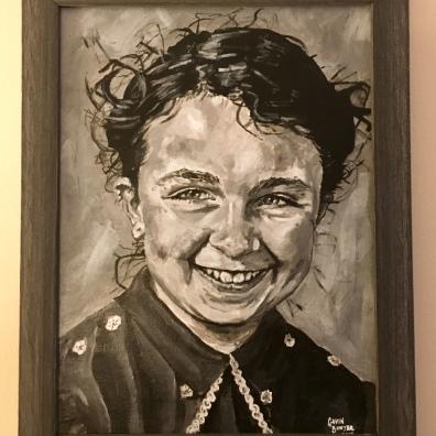"Mum framed 16x12"""
